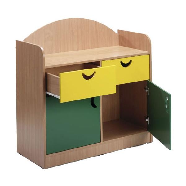 Stretton 2 Door Cupboard & 2 Drawer Storage Unit