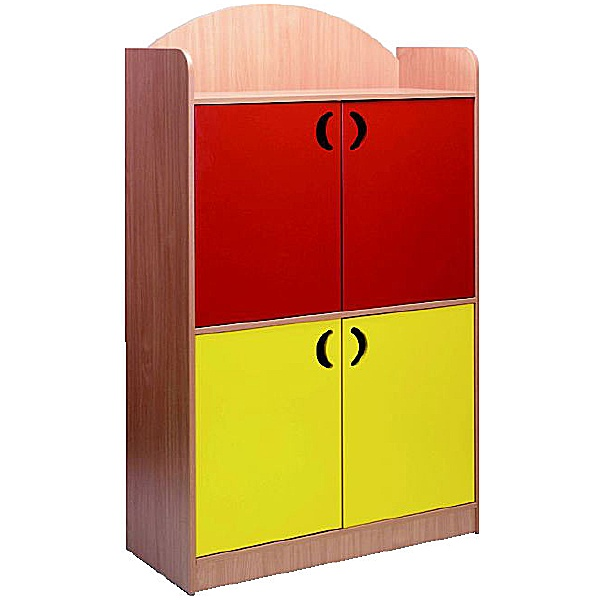 Stretton Designer Tall 4 Door Cupboard