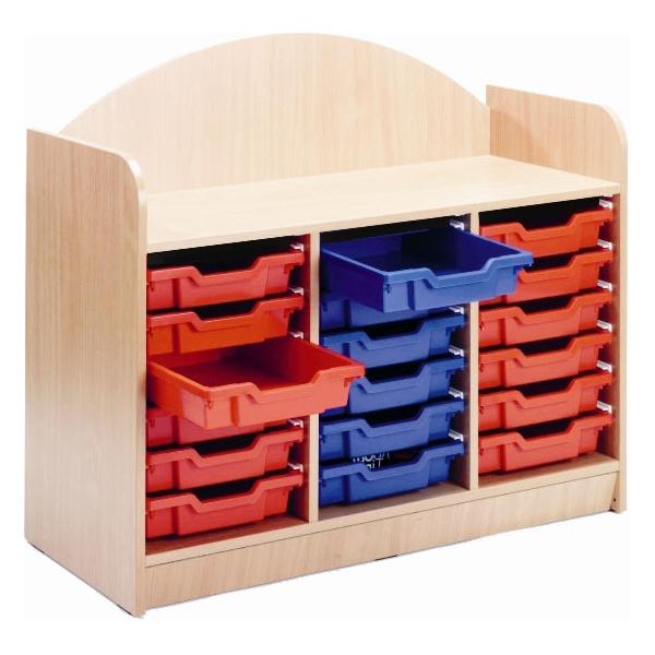 Stretton 18 Tray Designer Storage Unit
