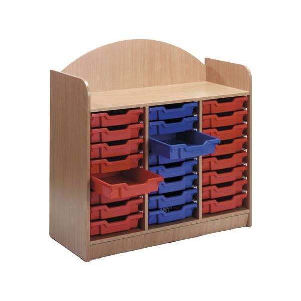 Stretton 24 Shallow Tray Storage Unit