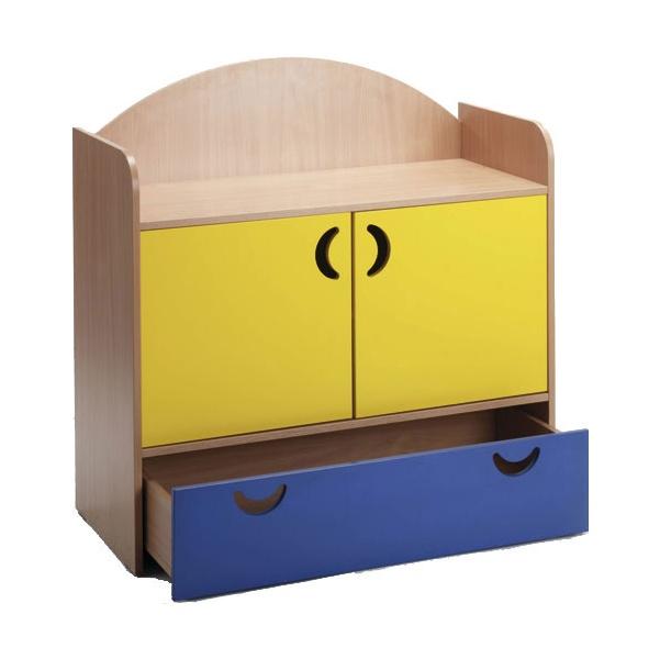 Stretton 2 Door & Drawer Designer Storage Unit