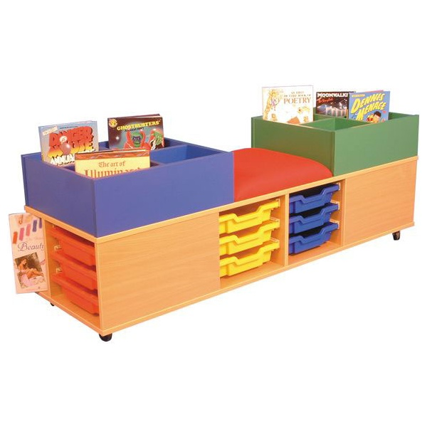 Mobile Kinder, Seat & Storage Activity Cen