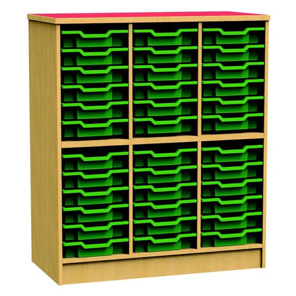 Funky Tall Tray Storage Unit