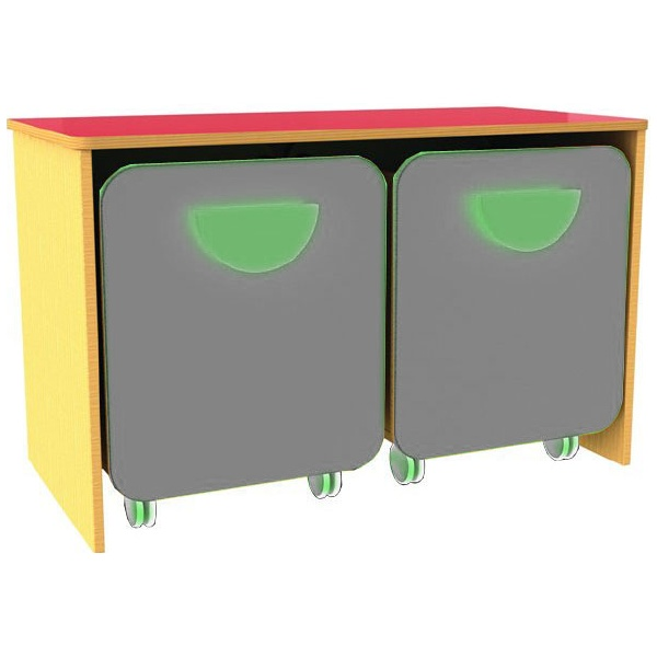 Funky Low Double Docking Unit