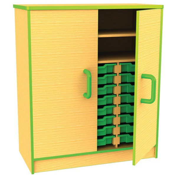 Edge Tray & Storage Cupboards