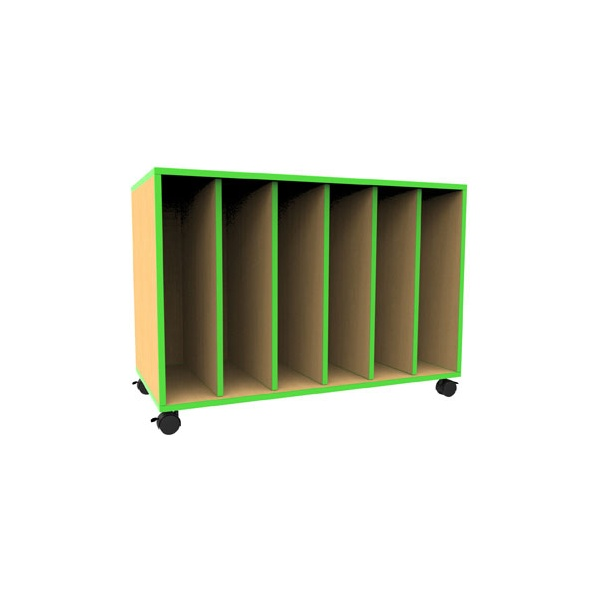 Edge Mobile Art Storage Unit