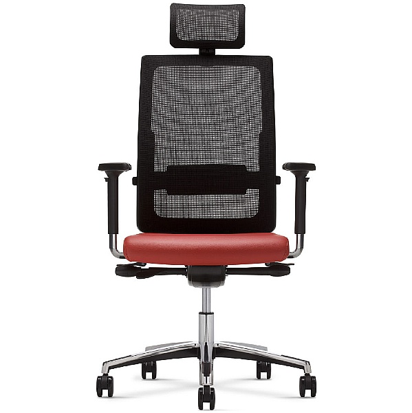 BN Mojito Mesh & Leather Executive Armchair With Headrest