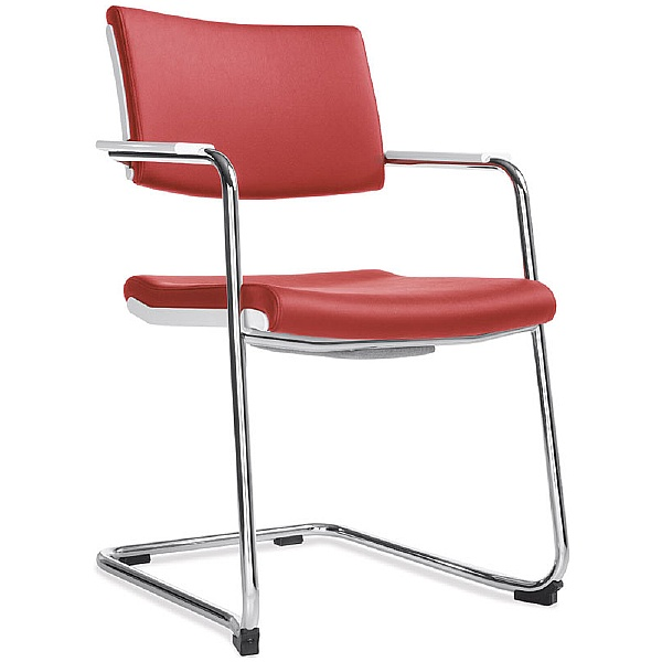 BN Belite Leather Cantilever Conference Chair