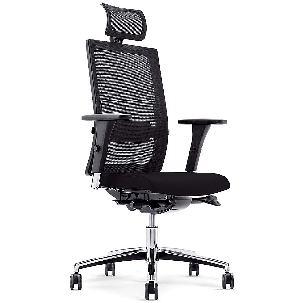 BN Mojito Mesh & Fabric Executive Chair With Headrest