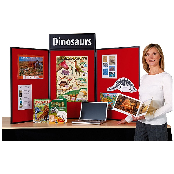 Busyfold Light Tabletop Folding Display Systems