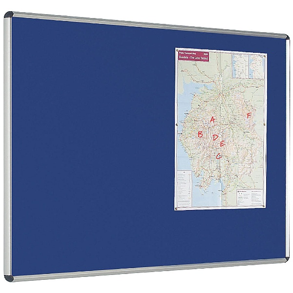 Express Stock Shield Deluxe Noticeboards