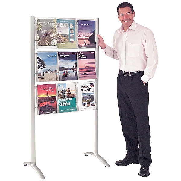 Crest Freestanding Leaflet Dispenser