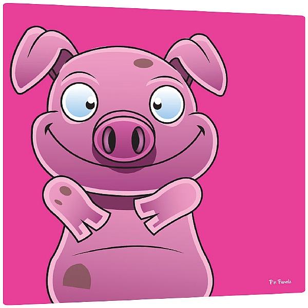 Pin Panelz Primary Graphics Alfie Pig