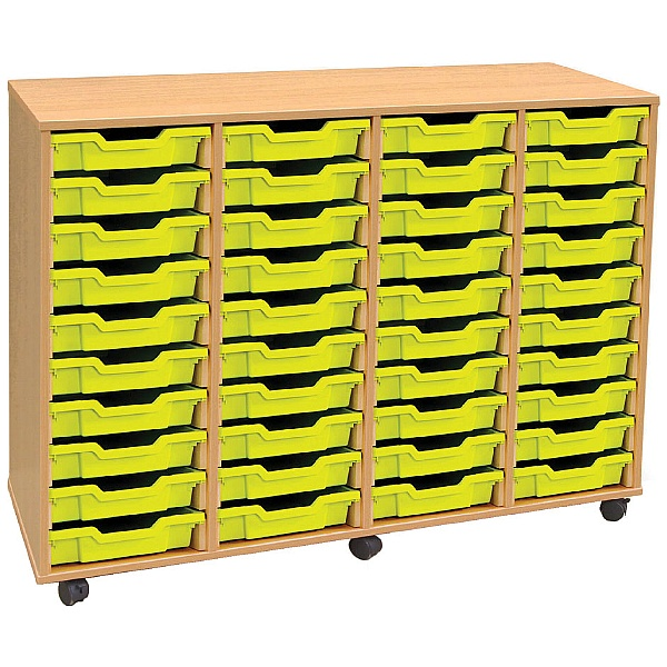 4Store 40 Tray Shallow Storage Unit