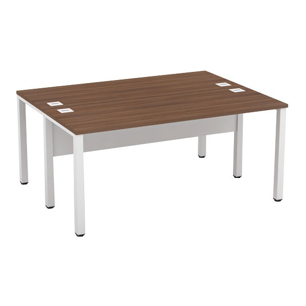 Presence Compact Rectangular Double Bench Desks