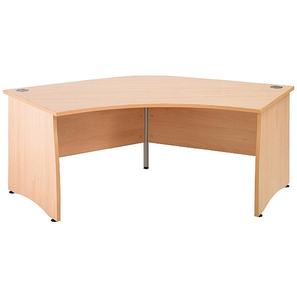 Gravity Contract Delta Panel End Desk