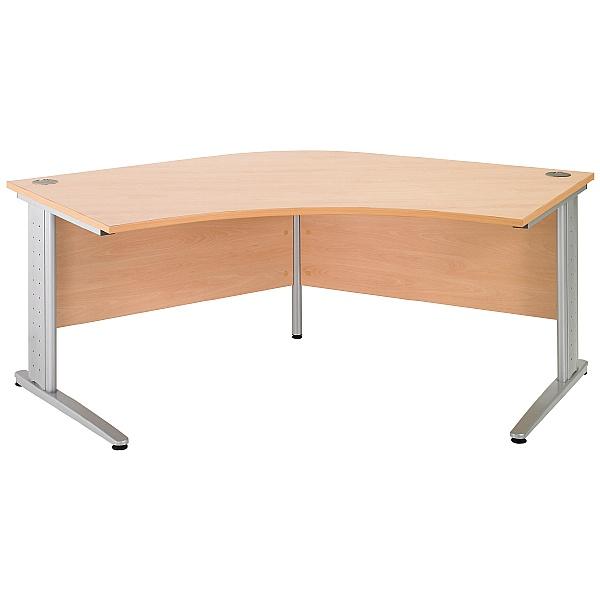 Gravity Plus Delta Cantilever Desk