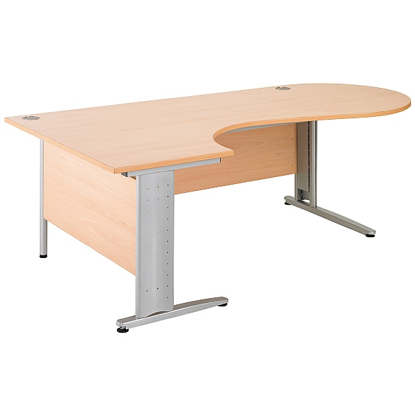 Gravity Executive Ergonomic Conference Cantilever Desk