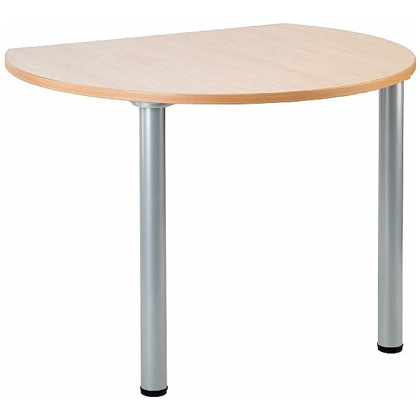 Gravity Bubble Meeting Table Round Legs