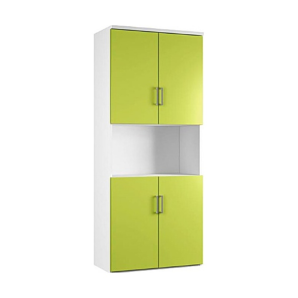 NEXT DAY Kaleidoscope Twin Double Door Combination Cupboards