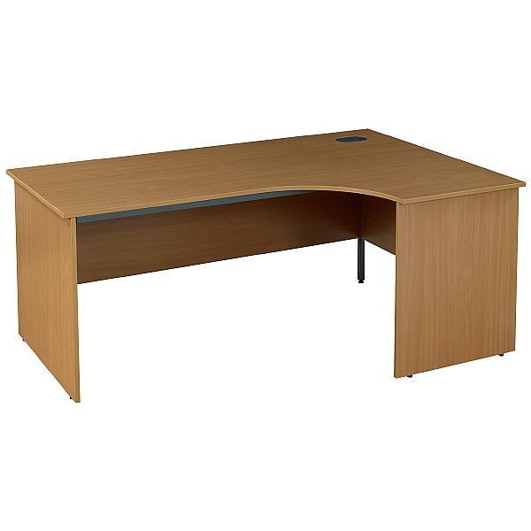 Nova Plus Ergonomic Panel End Desks