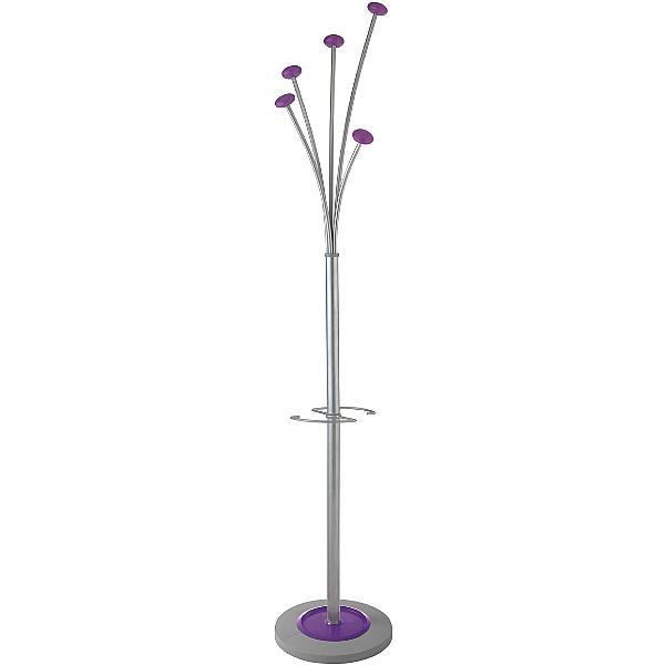 Purple Coat Stand