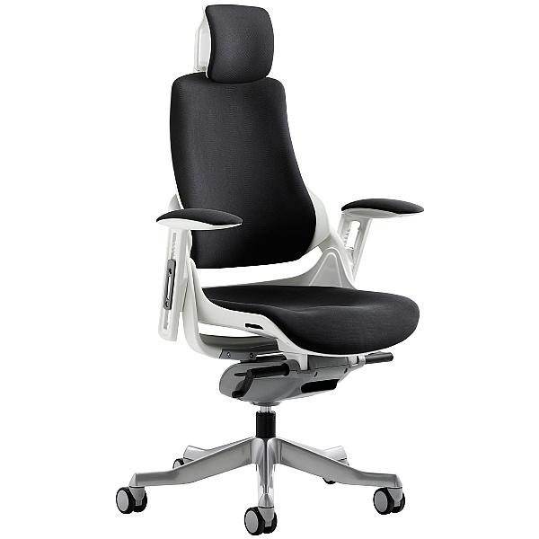 Jett Fabric Operator Chair With Headrest