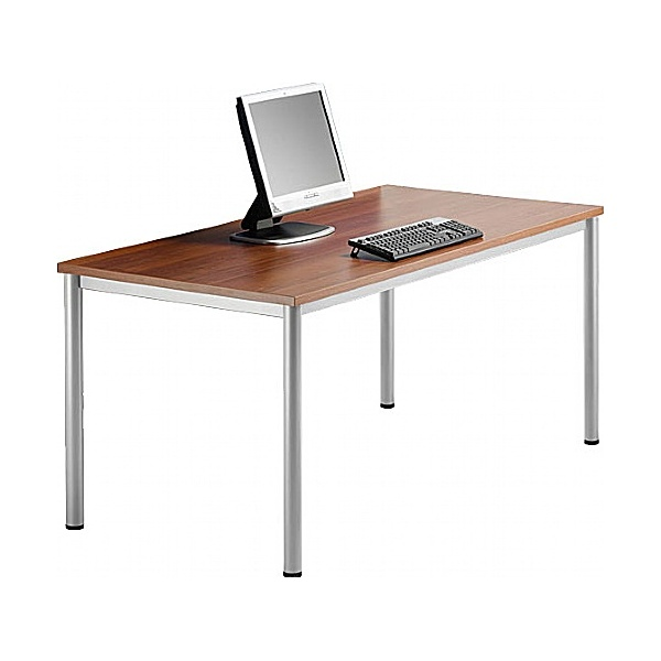 BN Easy Space Rectangular Desks - Round Legs