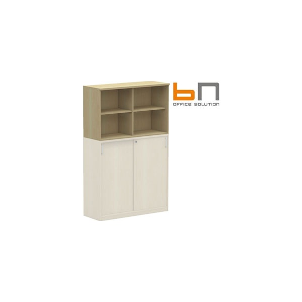 BN Easy Space Double Width Upper Bookcases
