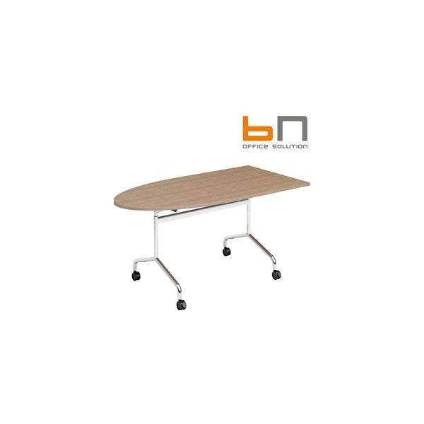 BN Flib Modular Half Oval Folding Meeting Tables