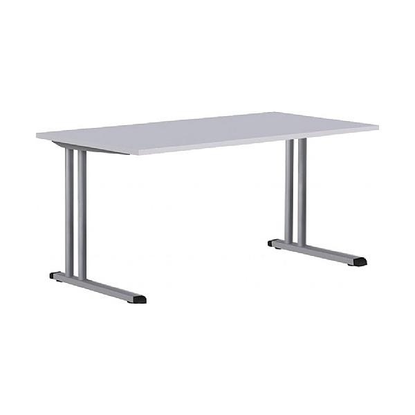 BN Easy Space Height Adjustable Rectangular Desks - Cantilever Legs