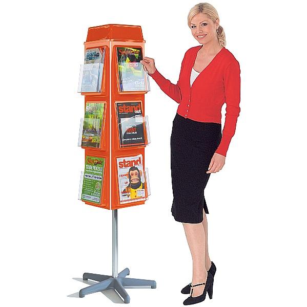 ColourPlus 4 Sided Revolving Dispensers