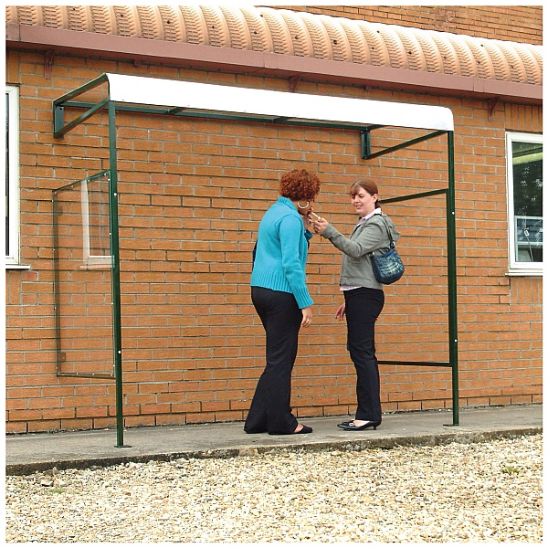 Wall Mounted Smoking Shelter
