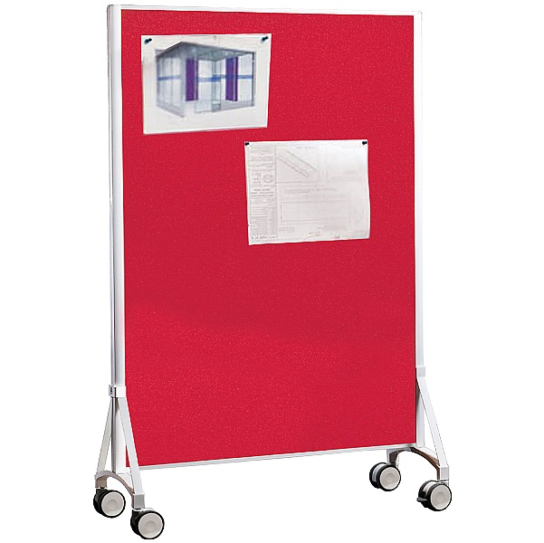Volar Pinnable Floorstanding Mobile Partition Scre