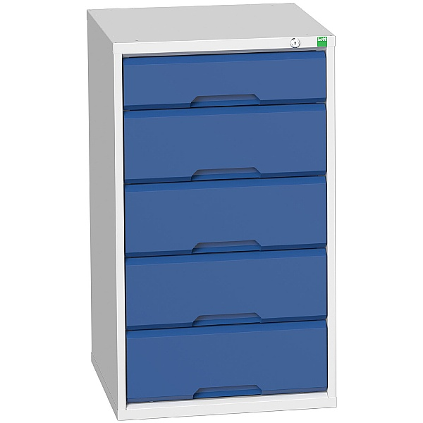 Bott Verso Drawer Cabinets - 525mm Wide x 900mm High - 5 Drawers