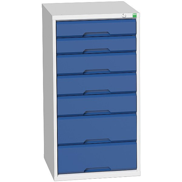 Bott Verso Drawer Cabinets - 525mm Wide x 1000mm High - 7 Drawers