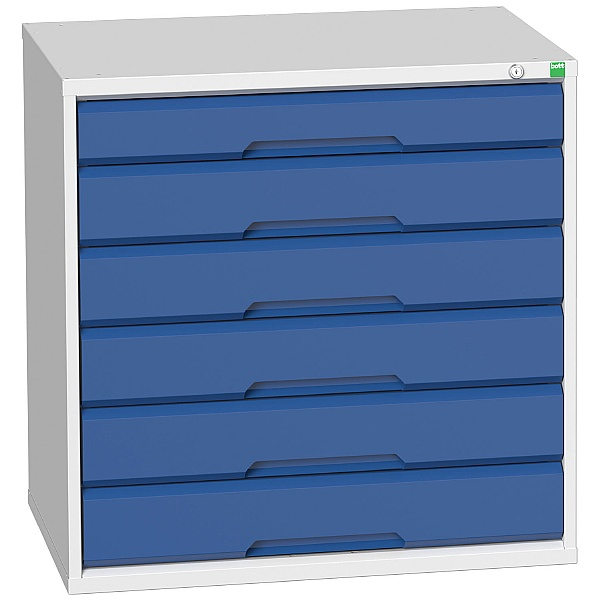 Bott Verso Drawer Cabinets - 800mm Wide x 800mm High - 6 Drawers
