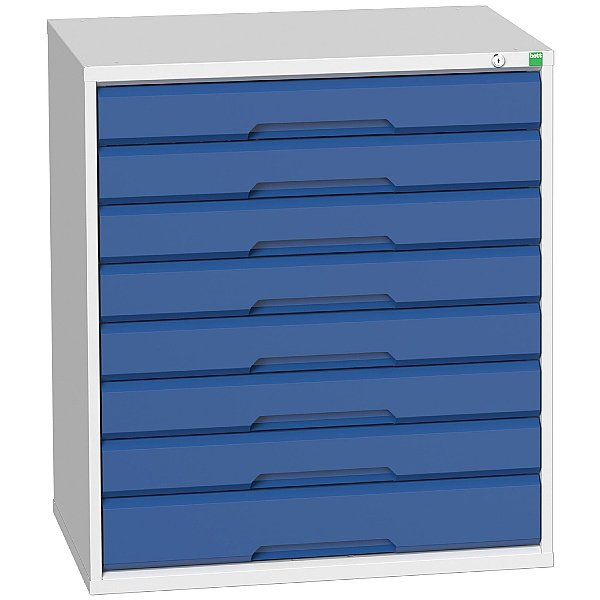 Bott Verso Drawer Cabinets - 800mm Wide x 900mm High - 8 Drawers
