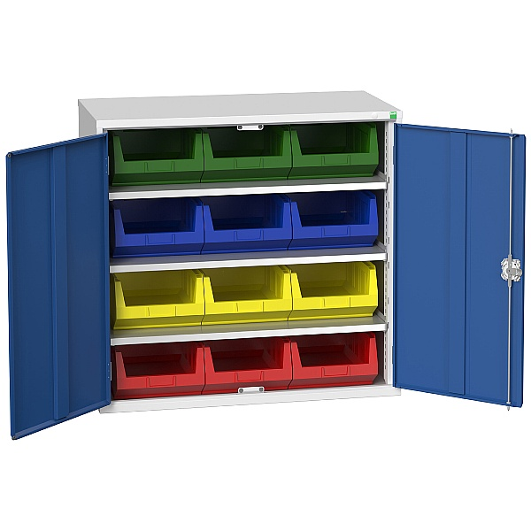 Bott Verso Bin Cupboard 12 Bins 1050W x 1000H