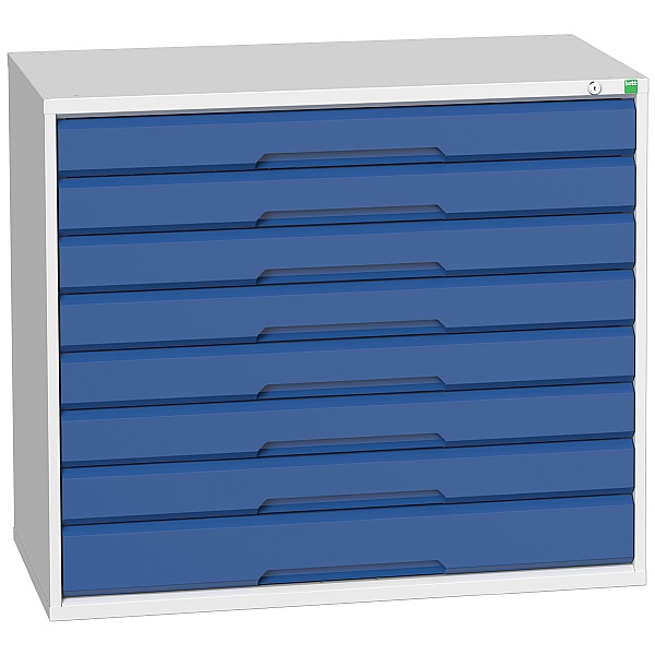 Bott Verso Drawer Cabinets - 1050mm Wide x 900mm High - 8 Drawers