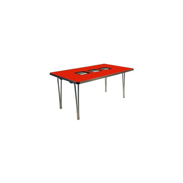 Gopak™ Three Tub Folding Tables