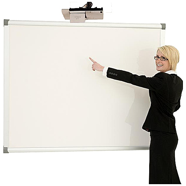 Province Dry Wipe Non-Magnetic Projector Screen/Board