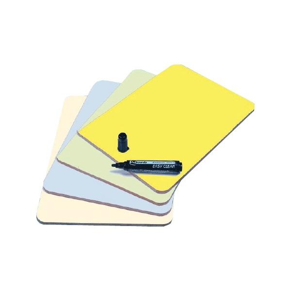 A4 Colourwipe Dry Wipe Boards