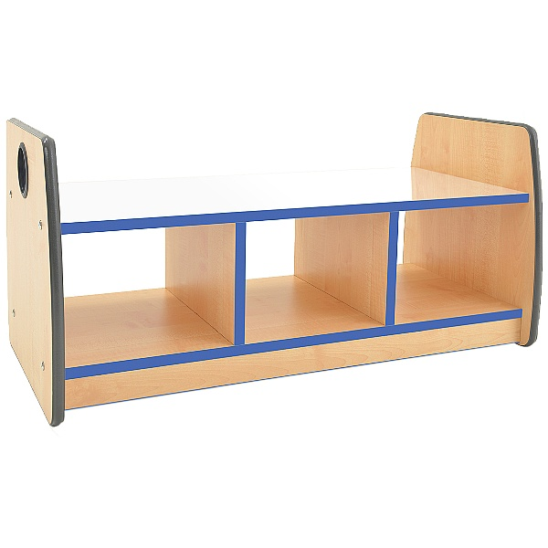 ColourEdge Storage Bench With Mirror Top