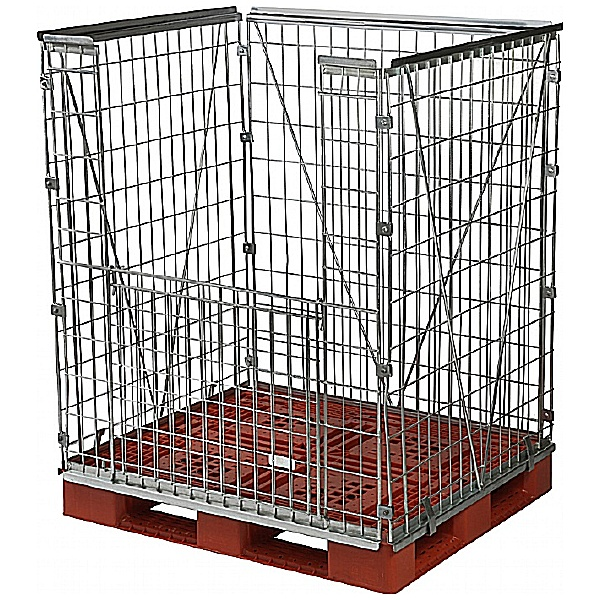 Palletower Stackable Extra High Retention Units - One Way Access