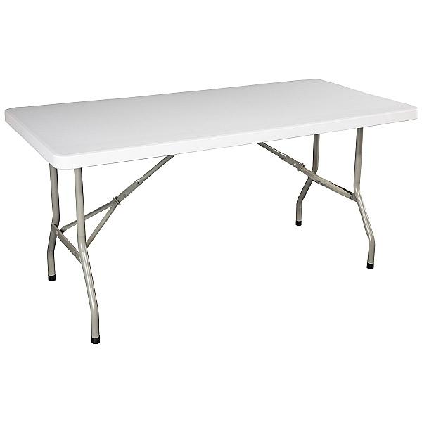 Atlantic Rectangular Poly Folding Tables