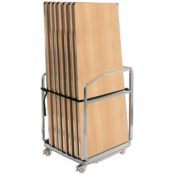 Gopak™ Contour Folding Tables + Small Trolley Bund