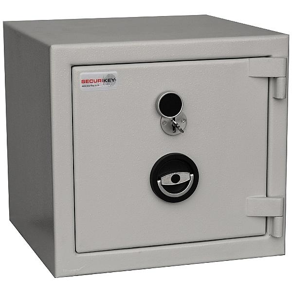 Securikey Euro Grade 2 Safe - Key Lock