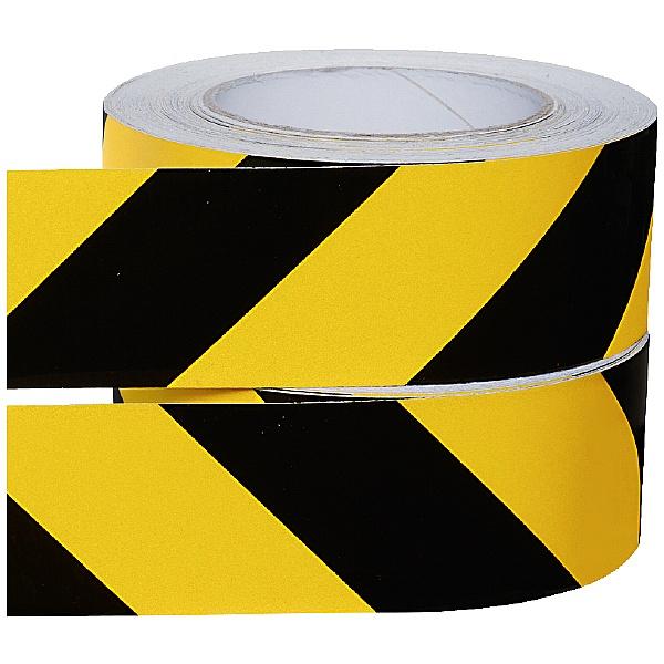 Hazard Warning Tape - Retro-Reflective