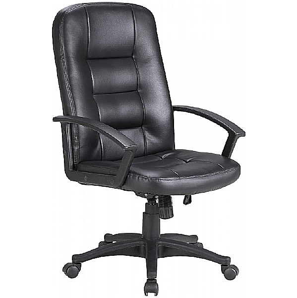 Preston Leather Faced Manager Chair